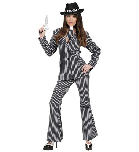 ffb9d3c115d9 Maskeradkläder-Gangster-tjej